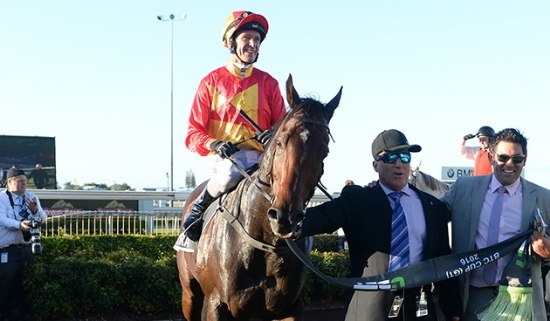 MALAGUERRA BTC Cup winner returns to scale with Bruno Micalizzi (left) and Lenny Russo