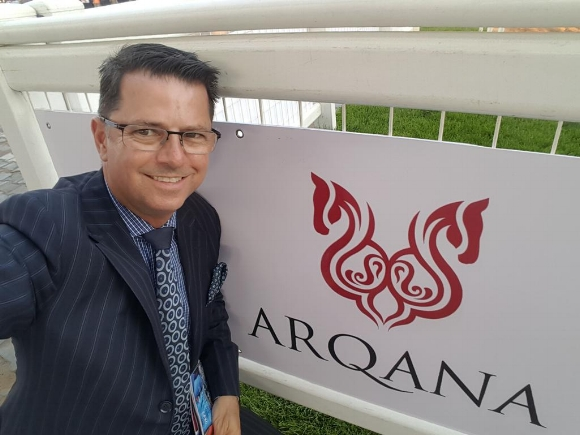 DAMON GABBEDY Pictured at Ordos Yiqi Racecourse