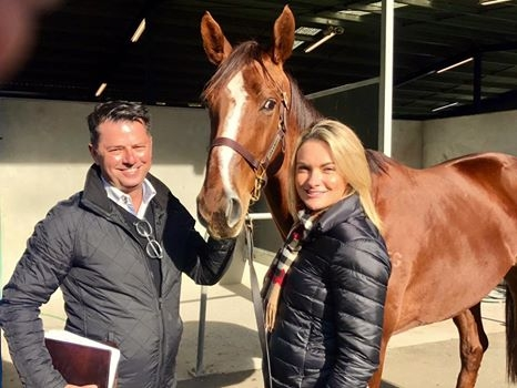 SCARLET BILLOWS Great Southern sale-topper with Damon Gabbedy & Sally Williams