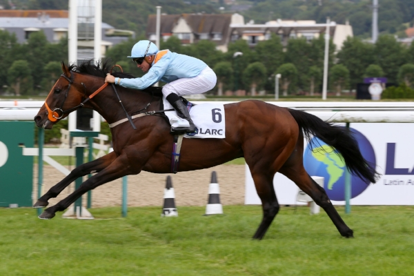 VENTURA STORM WINS AT DEAUVILLE