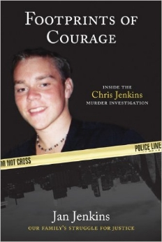 With exceptional candor and shocking detail, Jan Jenkins wrote Footprints of Courage--the first look inside the tragic and untold saga of the Chris Jenkins murder investigation undertaken by the family who loved him. Chris's parents and sister took extraordinary measures to force the truth into the light by securing the assistance of global leaders in water rescue and recovery, analyzing autopsy and recovery photos for clues?the list of steps they were forced to take on their own initiative is endless.Chris's disappearance captivated a city, and then a nation, when the public learned that dozens of young men in the preceding twelve years had met a similar fate. While pushing to unravel the mystery of his murder, Chris's courageous family paved the way for federal involvement in the possible serial homicides of more than seventy victims.