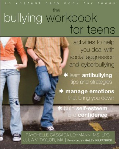 The Bullying Workbook for Teens   incorporates cognitive behavioral therapy (CBT) to help ease anxiety, fear, stress, and other emotions associated with being bullied. The workbook is made up of 42 step-by-step self-help activities designed to help you learn anti-bullying tips and strategies.