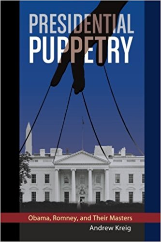 Presidential Puppetry   documents what many millions have long suspected: secretive elites guide our government leaders. The first book to analyze the Obama second term is also one of the first to examine the 2012 elections. Puppetry reveals scandals and shows why Congress, courts, and other watchdog institutions fail to report key facts about even the biggest news makers