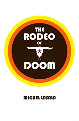 "The Rodeo of Doom is a wild romp through the year of our lord 2384, where Henry Fields is a down on his luck adjunct professor in the Architecture Department at Andreas Tangen University in Los Angeles; but he has one thing going for him that others don't. He has enough of the coveted EP14 to live to be 200 if he wants to, not that hard. When he saves a woman from certain death with a few drops of the EP14, a corrupt government agency tries to blackmail him into selling off his supply. Just when it seems like it might be a good idea, all hell breaks loose.   ""Don't start reading this book unless you have a few free hours. Many readers have already been fired for unexplainable absences from work duties.""   Frank Betterton  ""This book will singe the hairs off of a coyote's arse at a hundred yards. Proceed with caution.""   Joseph Ping"
