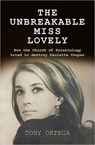 In 1971 Paulette Cooper wrote a scathing book about the Church of Scientology. Desperate to shut the book down, Scientology unleashed on her one of the most sinister personal campaigns the free world has ever known. The onslaught, which lasted years, ruined her life, and drove her to the brink of suicide. The story of Paulette's terrifying ordeal is told in full for the first time in The Unbreakable Miss Lovely, published by Silvertail Books. It reveals the shocking details of the darkest chapter in Scientology's checkered history, which ended with senior members in prison, and the organization's reputation permanently damaged.