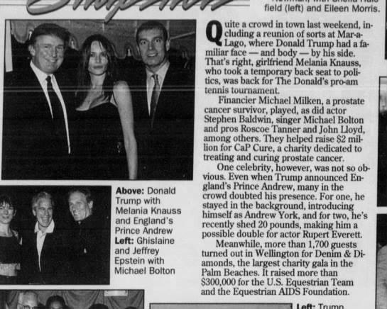 Donald Trump - Photo provided by Casey Gane-McCalla author ofInside the CIA's Secret War in JamaicaThe captions to these photo's were first uncovered via a docusearch and first reported by Pearse Redmond about 3 years ago. I have been accused of lying about this for years since the pics could not be found with a simple google search.