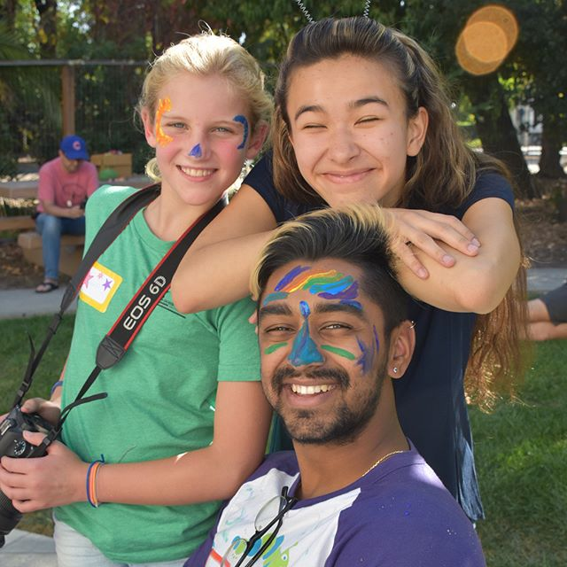 Kicking the year off with a bang! There was paint, there was gaga, there was joy - there was Kesem. Fall Reunion was a blast for families and counselors alike #stanfordcampkesem #kesemmagic