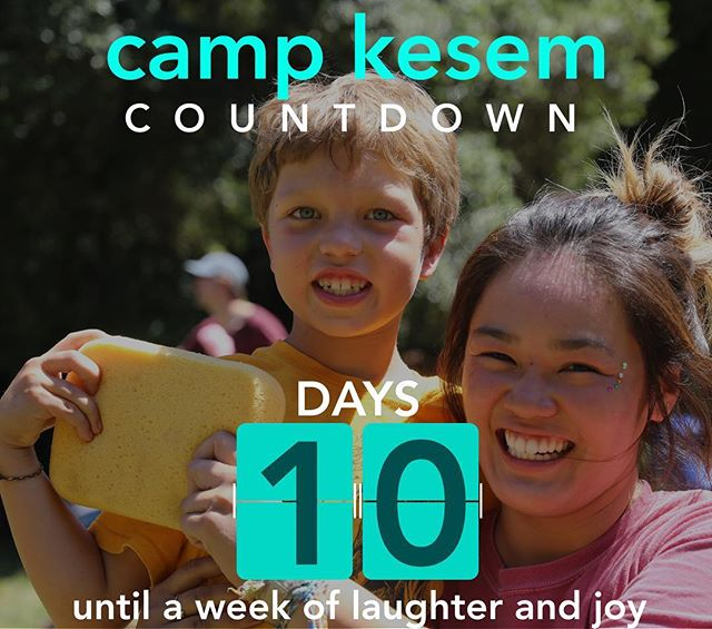 "The countdown has officially begun! Camp Kesem Stanford 2018 begins in 10 days!!! While camp brings out the whole spectrum of emotions, one that keeps everyone grounded during the week of camp is JOY: - ""If you think the happiest place on earth is Disneyland, you obviously haven't been to Kesem."" - Stay tuned over the next 10 days for a countdown guaranteed to make you smile"