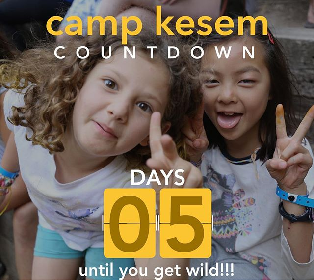 "Camp is in 5 days wooooo!!!!! Some big favorites of the week are the all-camp ~activities~ such as olympics, scavenger hunt, dance party, and... let's just say we have a surprise this year!! Get ready for a wild week! - ""You come here and just can't stop smiling."""