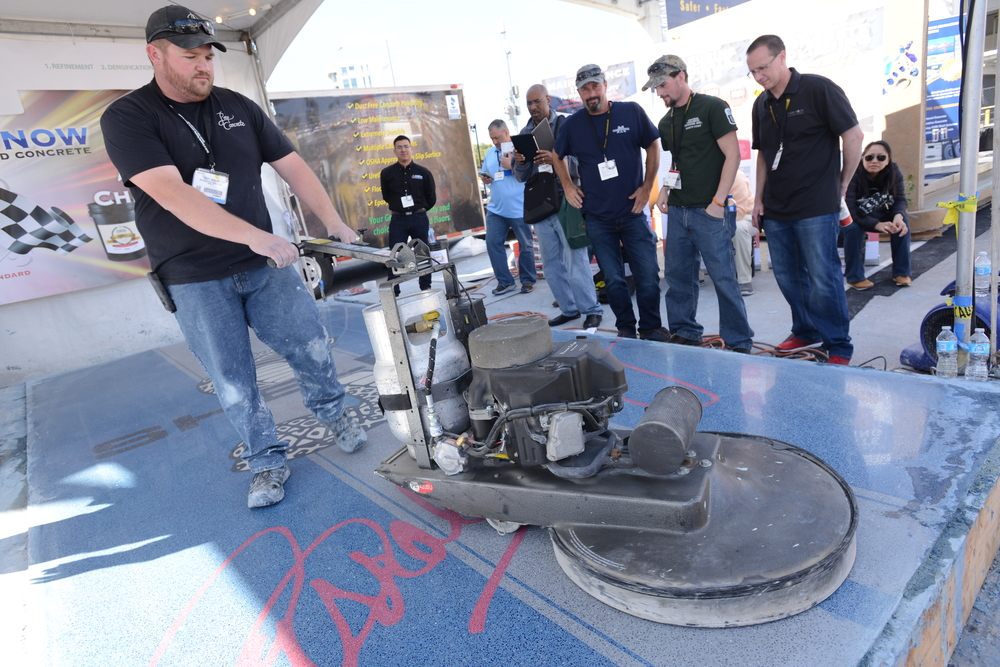 PHOTO COURTESY OF WORLD OF CONCRETE