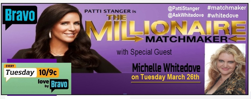 Love Expert and Psychic Michelle Whitedove on TV