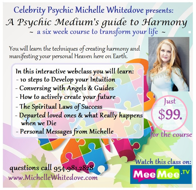 WEBclass A Psychic Mediums guide to Harmony
