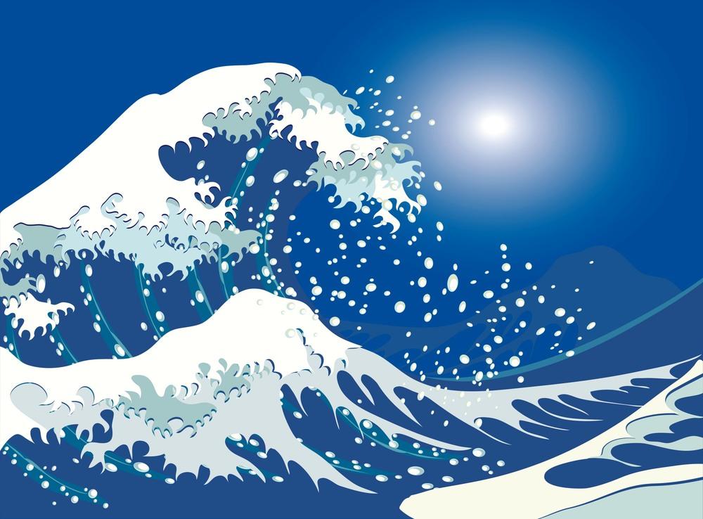 Tsunami GraphicStock