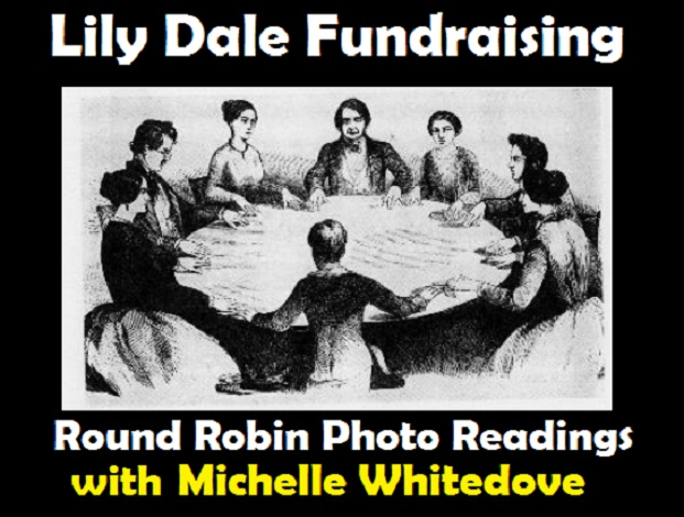 lily dale fundraising Michelle Whitedove round robin.jpg