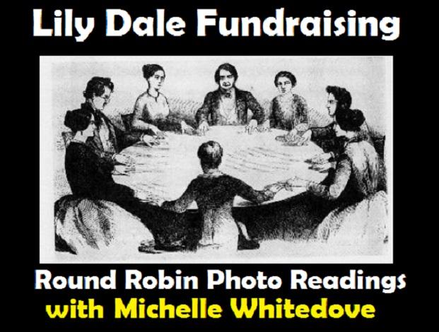 lily dale fundraising Michelle Whitedove round robin.jpg