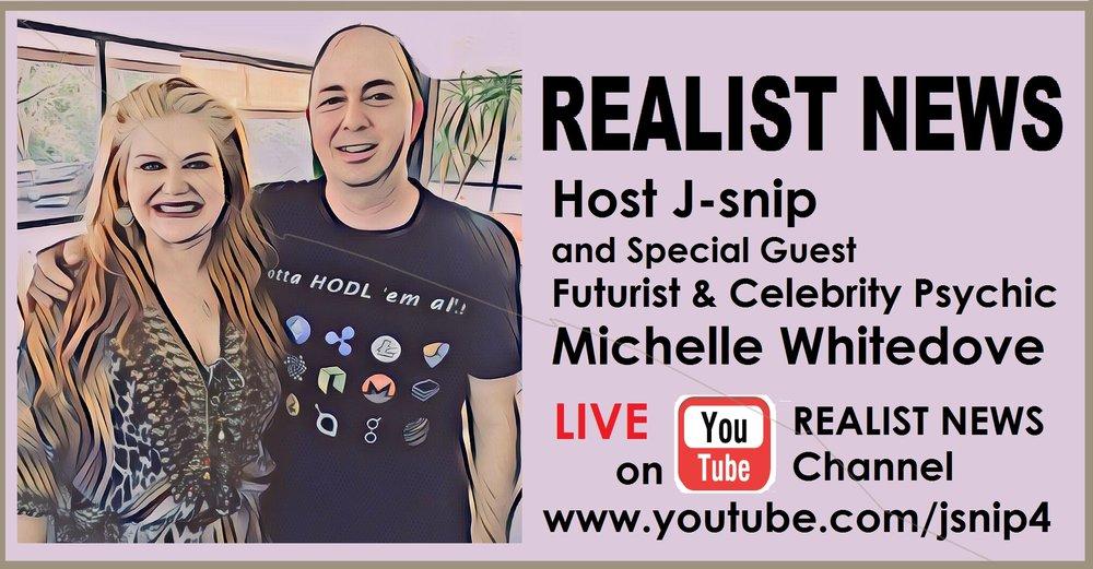 Realist news Psychic Michelle Whitedove