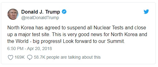 2018 blog Trump tweet April 20 north Korea nuke.jpg
