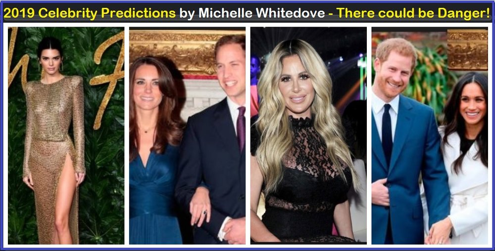 2019 Celebrity Predictions Danger kim zolciak biermann heart Prince William helicopter crash