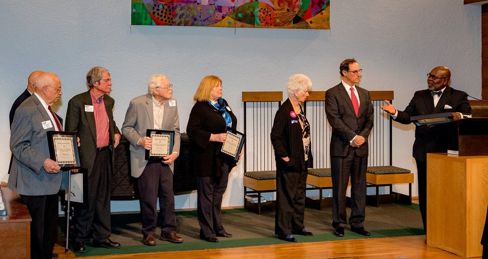 Six members of the CCS were honored that night.