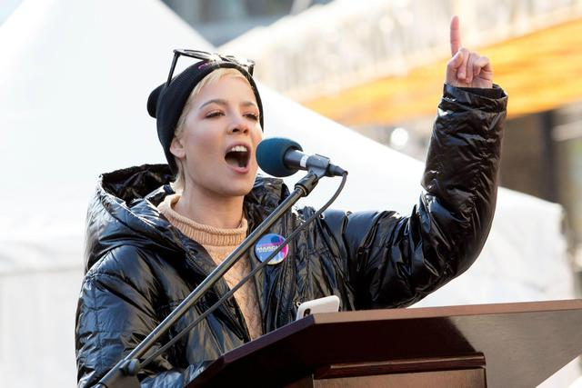 Halsey's Poem - Amazing moment the same weekend @ the March