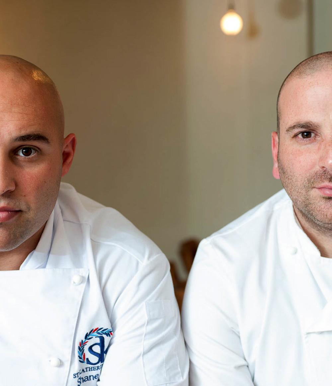 Two chefs Shane Delia