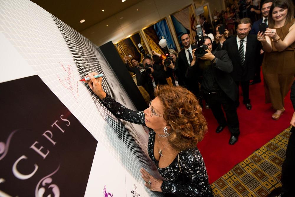 Francesco Vicenzi, Events Photographer Melbourne - Sophia Loren in Melbourne - La Dolce Italia
