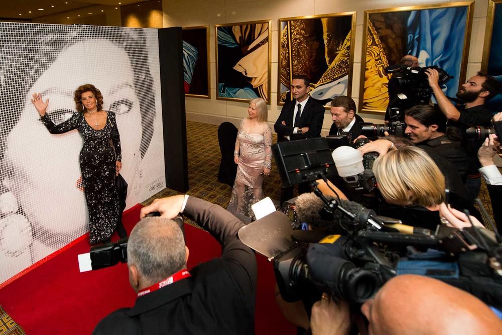 Sophia Loren in Melbourne