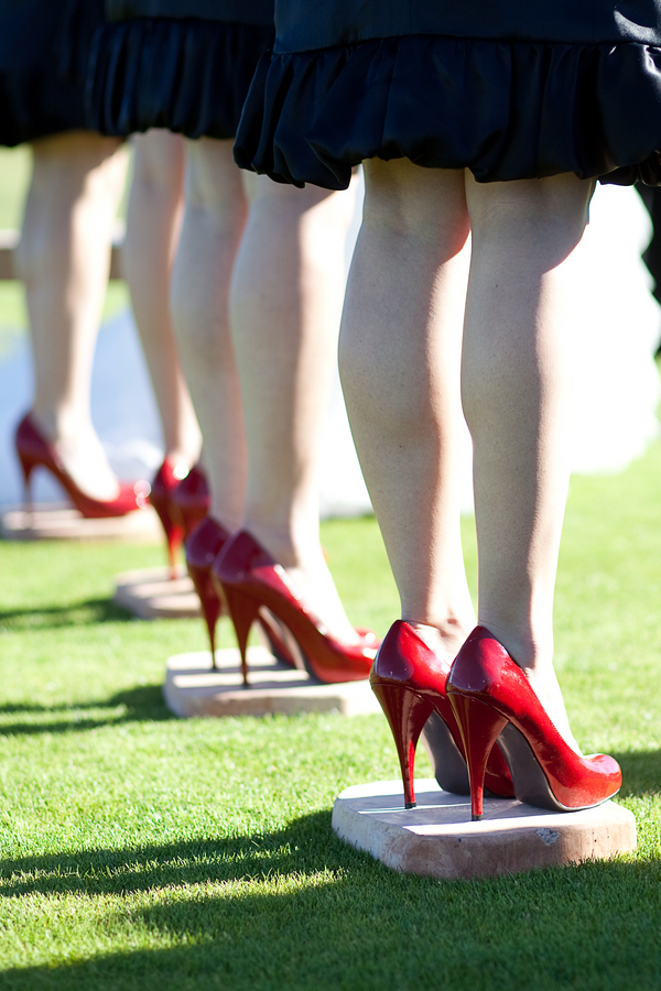 ceremony-stepping-stones-bridesmaid-heels.jpg