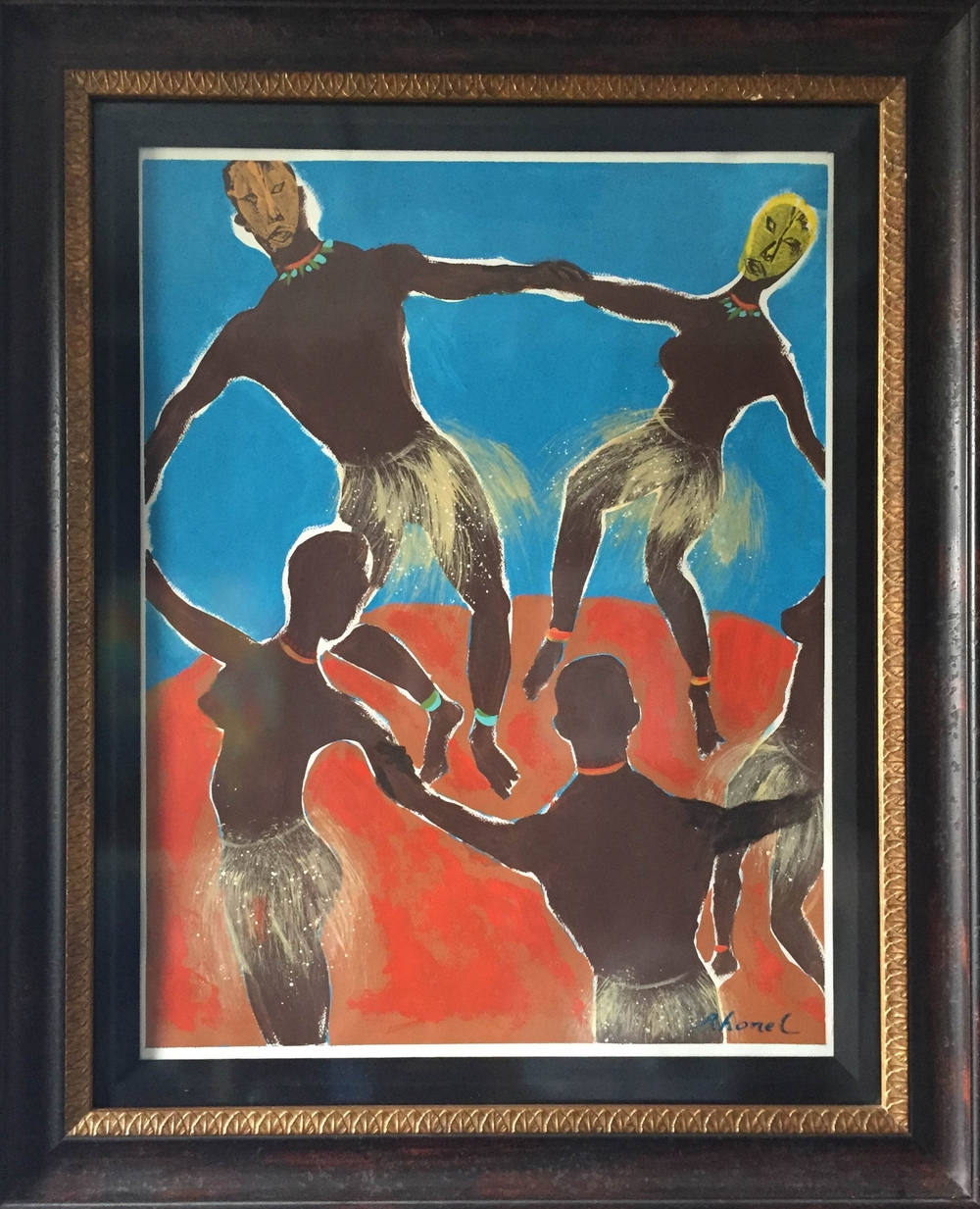 Africans Dancing with Matisse
