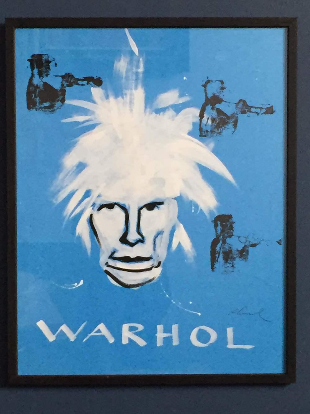 Warhol Meets Rhonel
