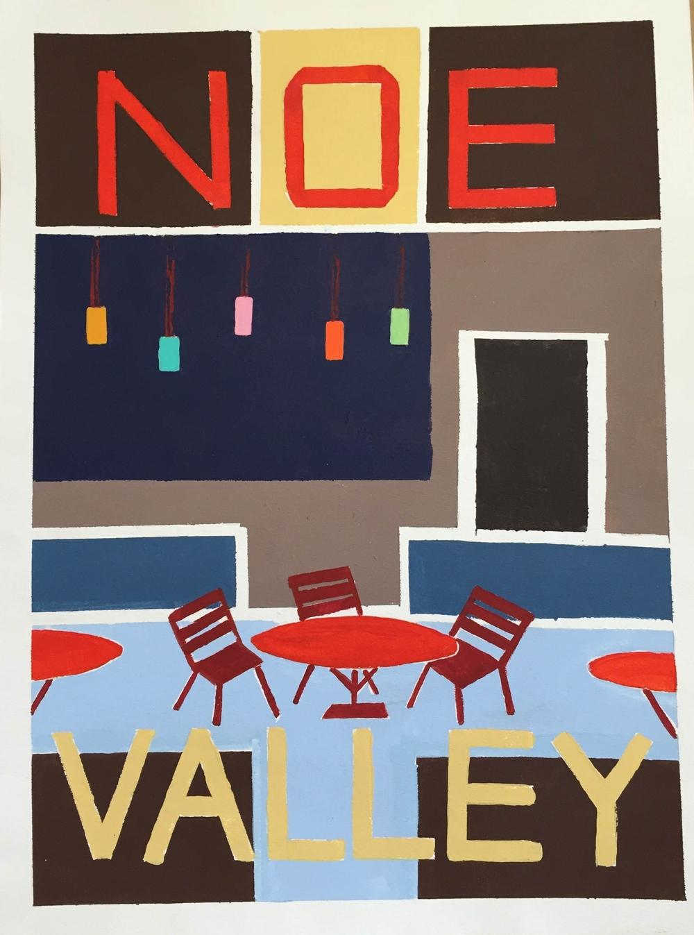 Noe Valley Poster (original)