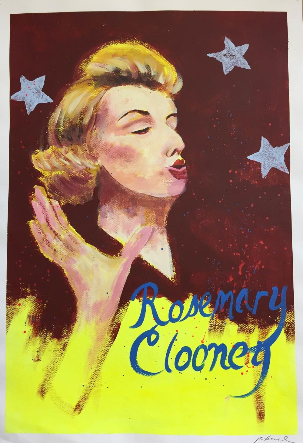 Rosemary Clooney poster (original)