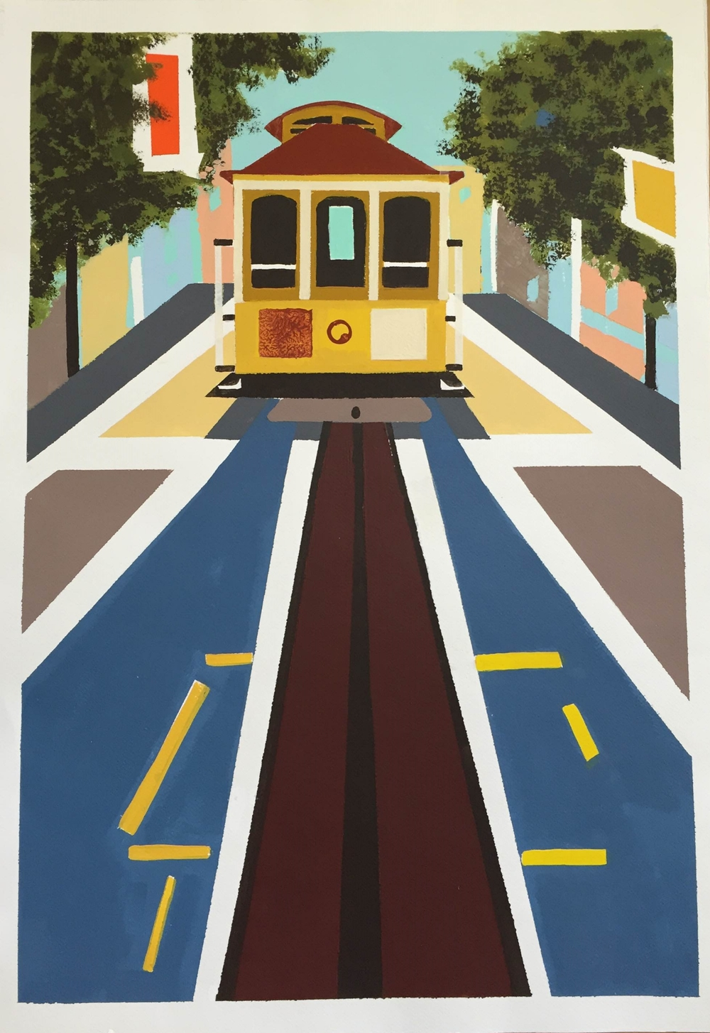 Cable Car Poster (original)