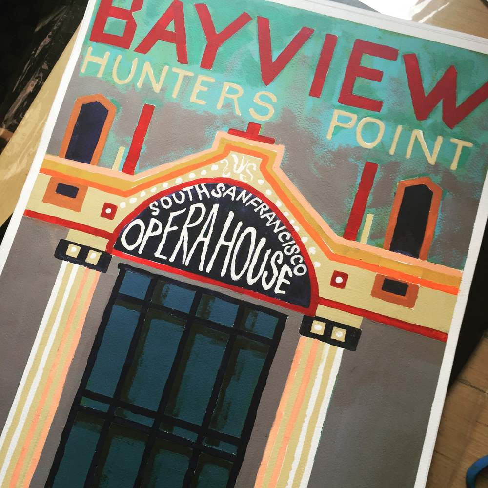 Bayview Opera House poster