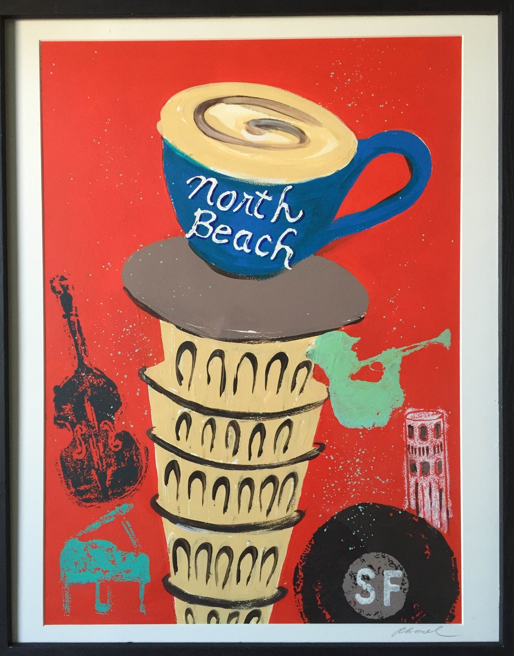 North Beach Poster