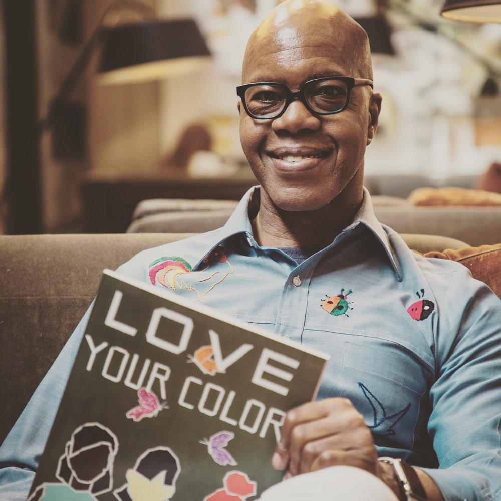 "Rhonel released his first book, entitled  ""Love Your Color""  on September 14th, 2017. Order the book  here."