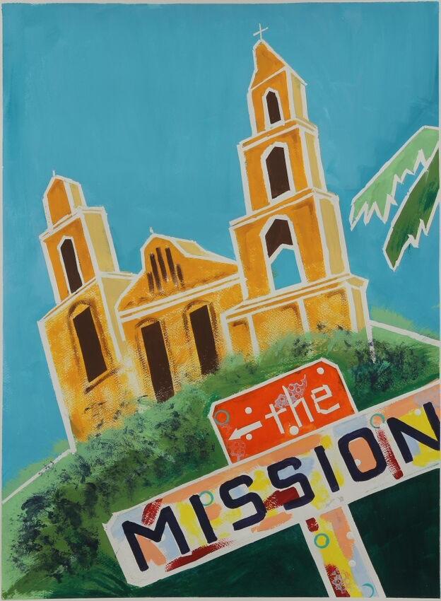 The Mission de Asis