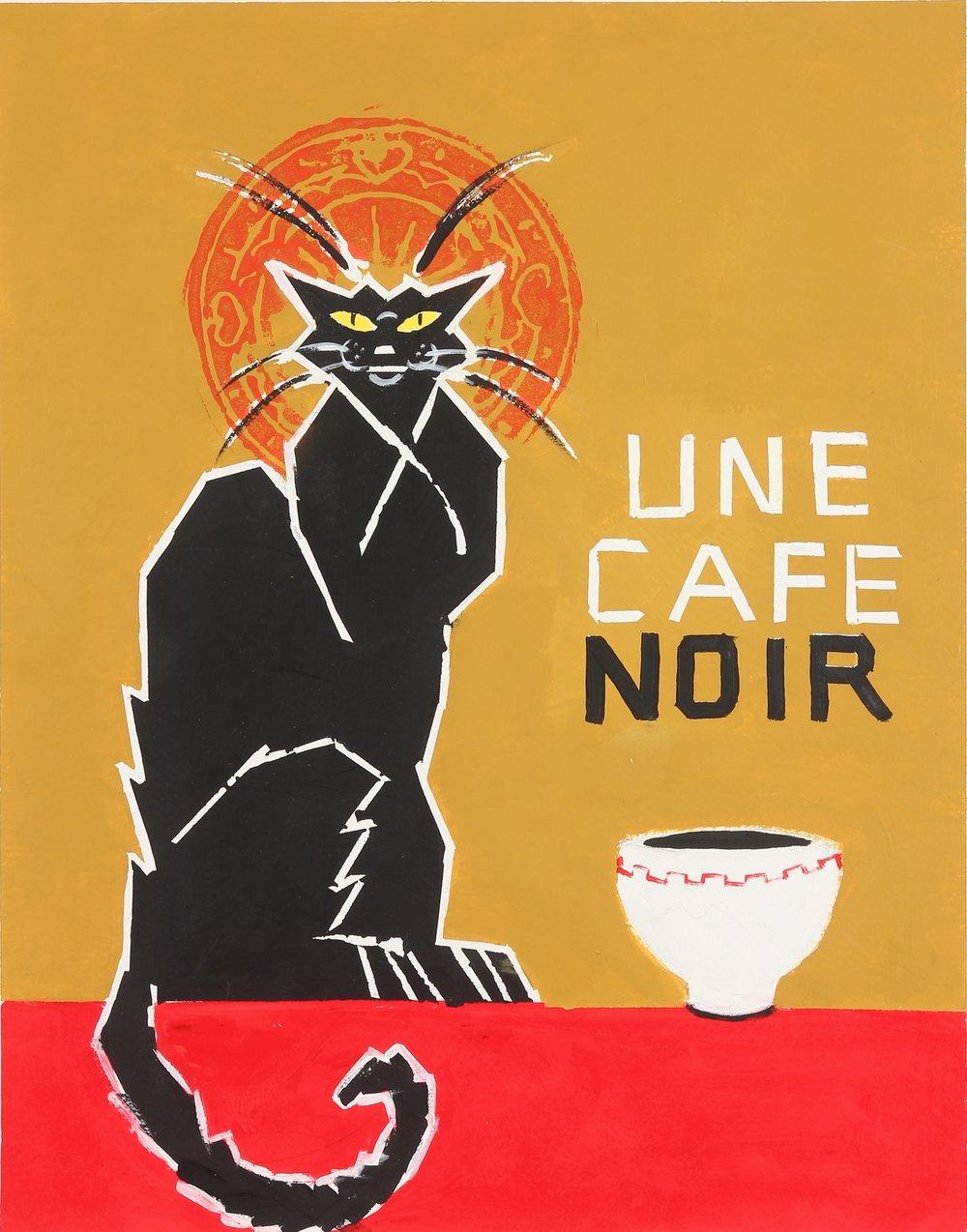 Une Cafe Noir