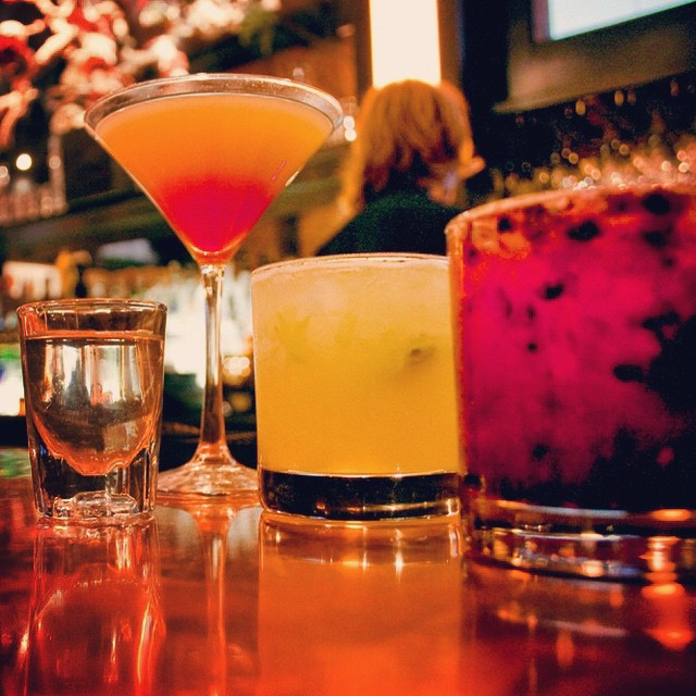 Time to get your weekend started. Scoot up to our copper bar and make your pick. Happy hour is right around the corner #happyhour #westwood #cocktails #mixology #foodie #theglendon #tgif #vodka #tequila