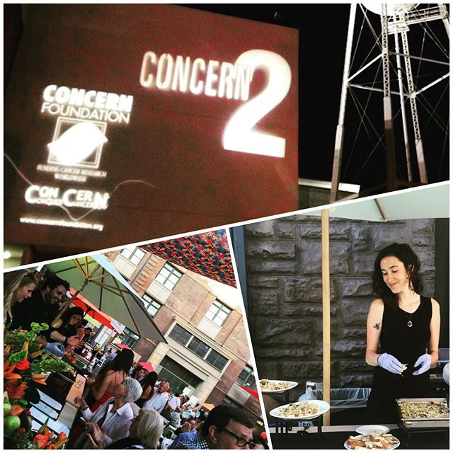 Proud to be a part of @concernfoundation Block Party on the Backlot at Paramount Pictures. Served up our Bourbon Buffalo Wings and Kale Artichoke Dip. #fightcancer #wings #kale #paramountpictures #westwood #foodie #foodstagram