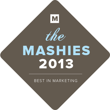Here is a new award show that celebrates the best in digital marketing, advertising, and social media. There are only 2 Days Left to buy tickets, so if you are in New York you should proabably go. http://themashies2013-2daystickets.eventbrite.com