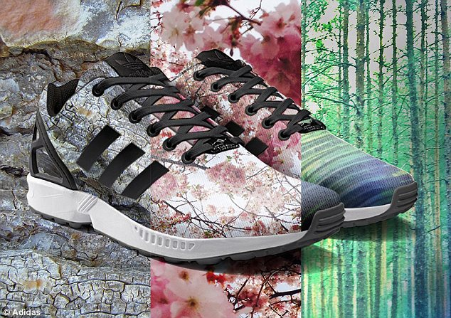 Adidas is rolling out ZX Flux shoes in August where you can Instagram a photo and have it printed on to your shoes.