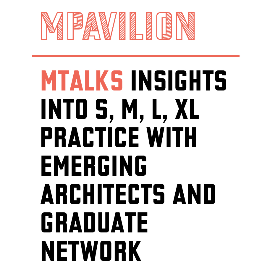 EmAGN hosts a discussion that features panelists from Melbourne practices small to extra large at MPavilion. Details  here