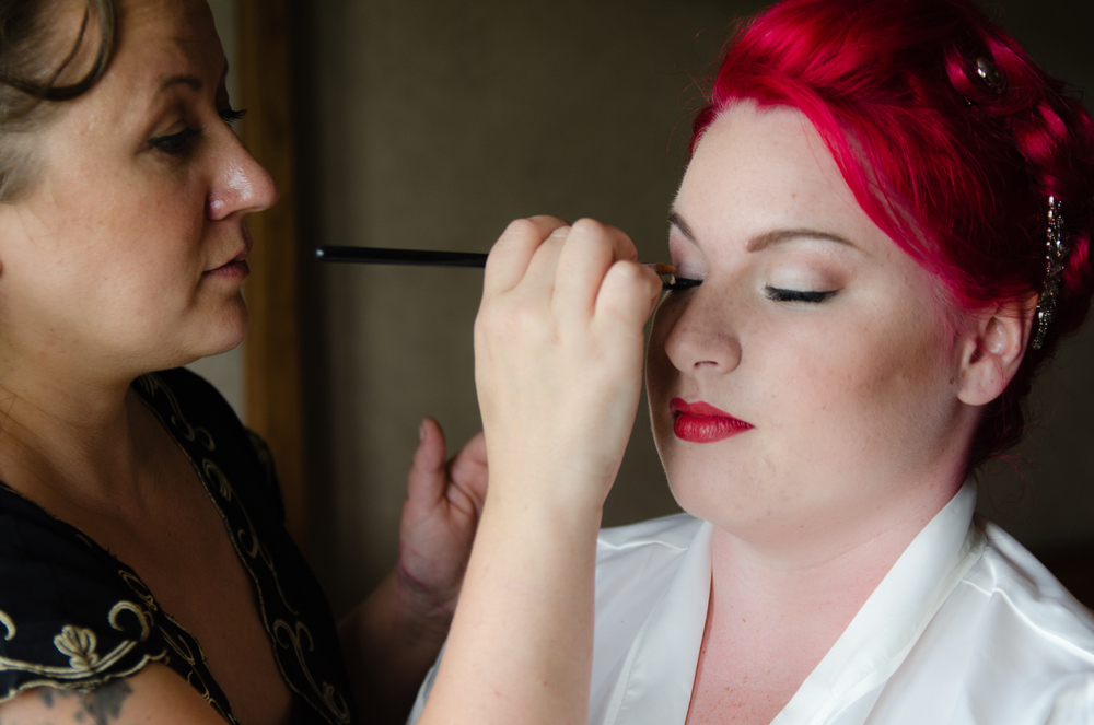 wedding makeup artist devon