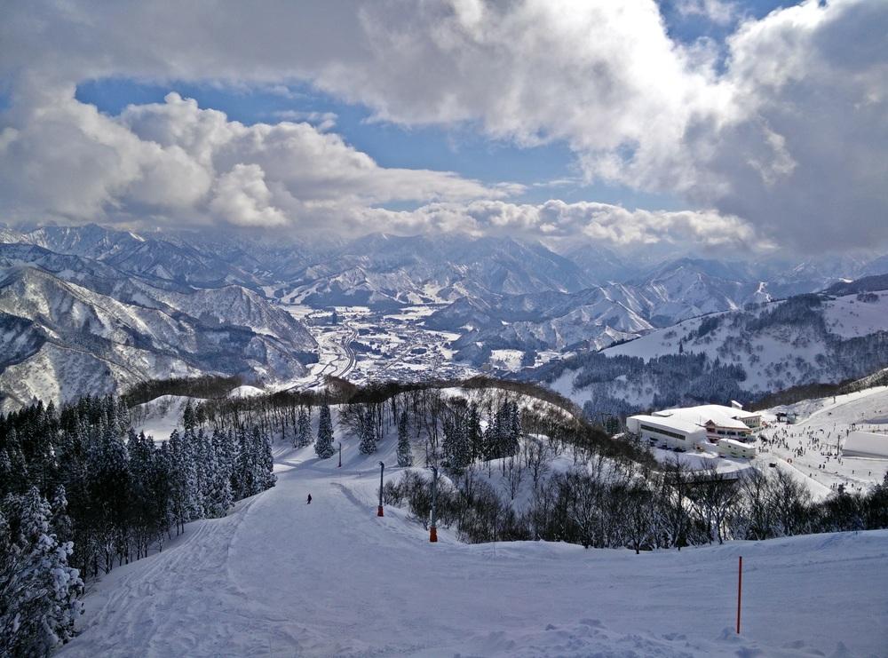 The view from GALA Yuzawa