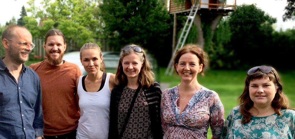 Mats Ingvarsson, Simon Lussi, Sousou Cissoko (ordförande) Hedda Heiskanen, Bryndís Bragadóttir och Sara Thuresson.