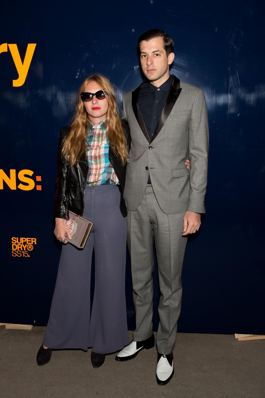 Mark Ronson & Josephine de la Baume