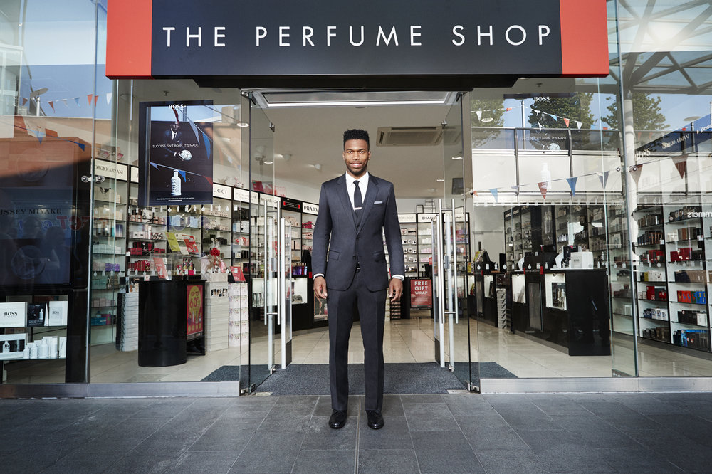 Daniel Sturridge - Hugo Boss