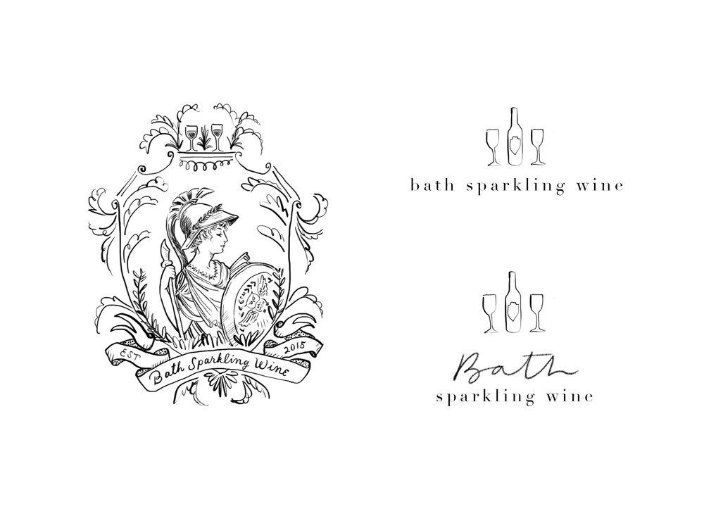 Bath Sparkling Wine Logo Collection.jpg