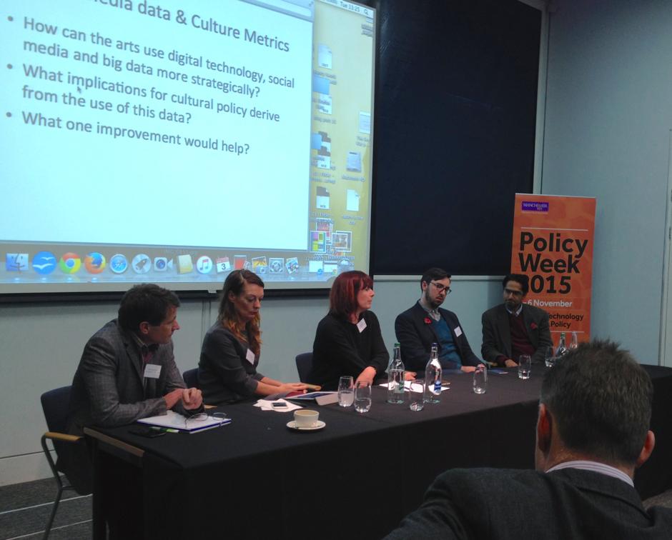 Roundtable: from left, Nick Merriman, Alison Clark, chair Abi Gilmore, Cimeon Ellerton, Hasan Bakshi.